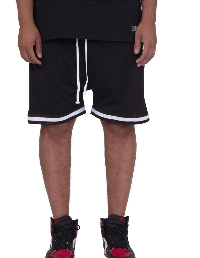 PRACTICE SHORTS - BLACK (SD2319-BLACK) - cosign1975