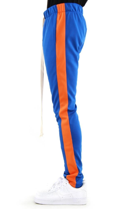 EPTM - TRACK PANTS (EP8451) - BLUE AND ORANGE - KNICKS INSPIRED