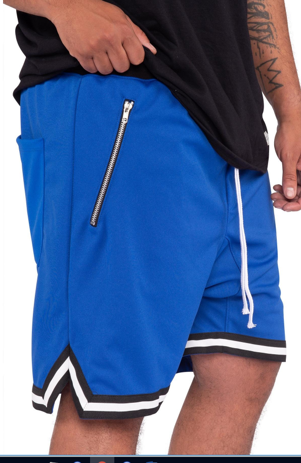PRACTICE SHORTS - BLUE (SD2319-BLUE) - cosign1975