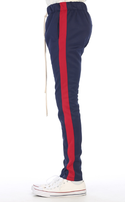 EPTM - TRACK PANTS (EP7589) -NAVY/RED
