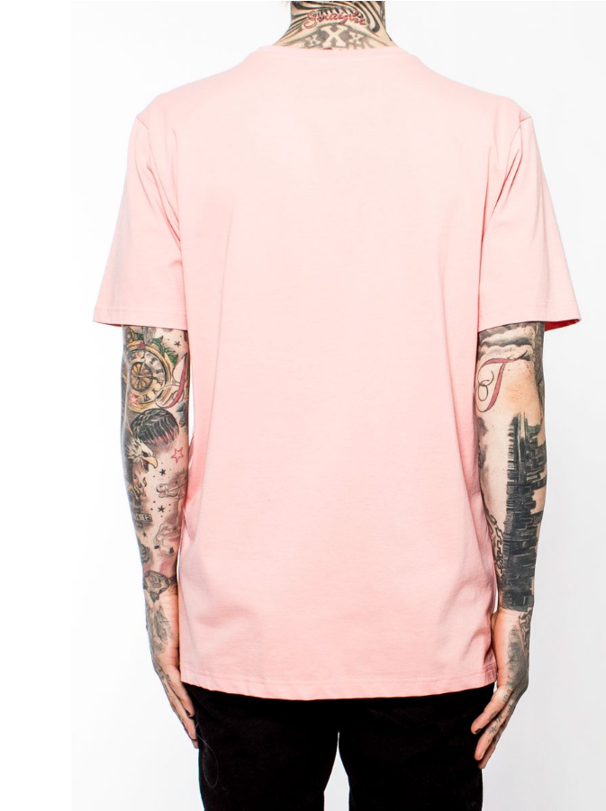 Logo Wave Tee (Y1160671) Salmon - cosign1975