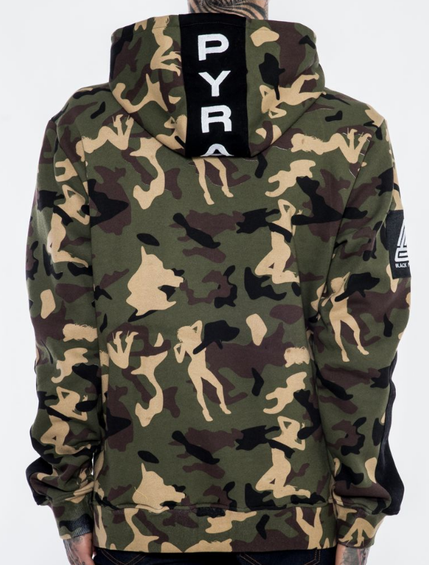 BP TECH HOODY Y5160419- CAMO - cosign1975