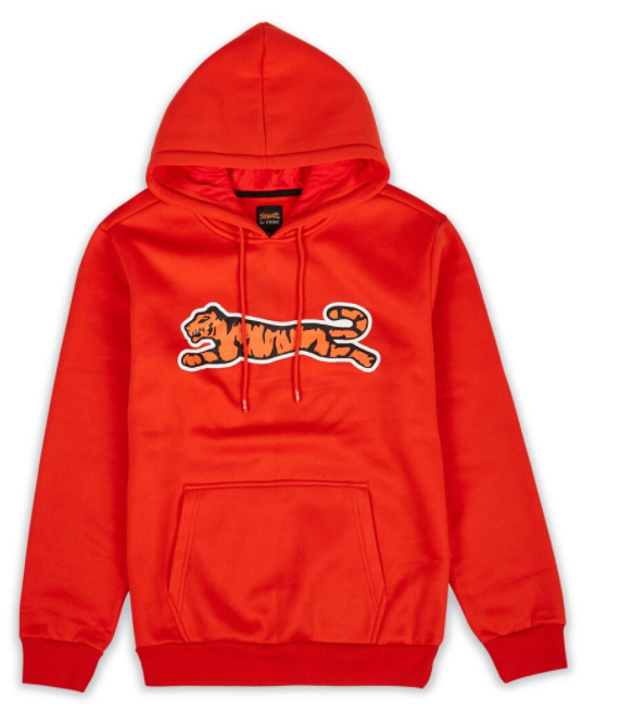 LE TIGRE - Bridge Hoodie (LA1-002) -RED/ORANGE