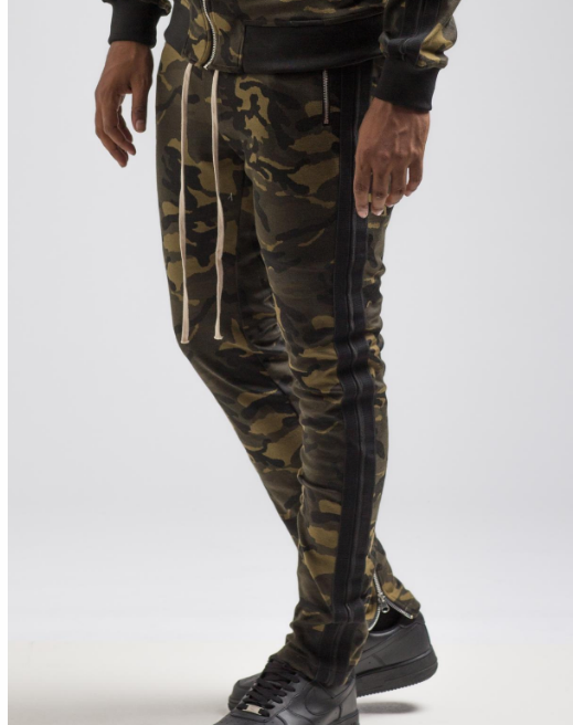 CAMO TRACK PANT (H4051902) - cosign1975