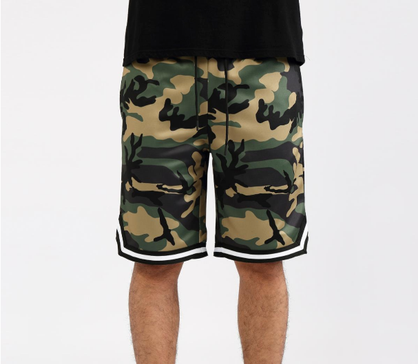 HUDSON - 2 Flavors B-Ball Shorts (H3052669) CAMO - cosign1975
