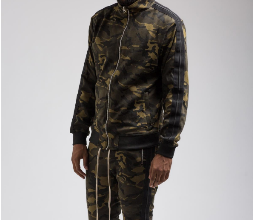 Camo TRACK JACKET (H6051901) - cosign1975