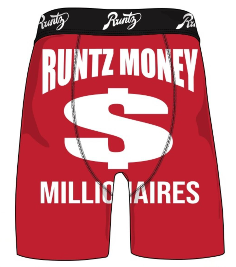 RUNTZ - RUNTZ MONEY UNDERWEAR (80052-RED)