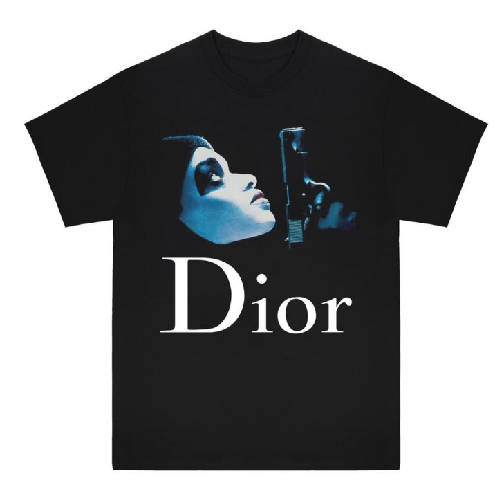WHITELIGHTNING - DIOR PRESIDENTS TEE (WL004) - BLACK