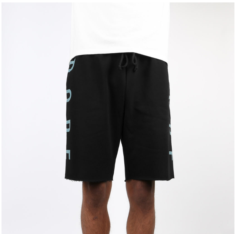 DOPE KNOCKOUT SHORTS D0815-P531-BLK - cosign1975