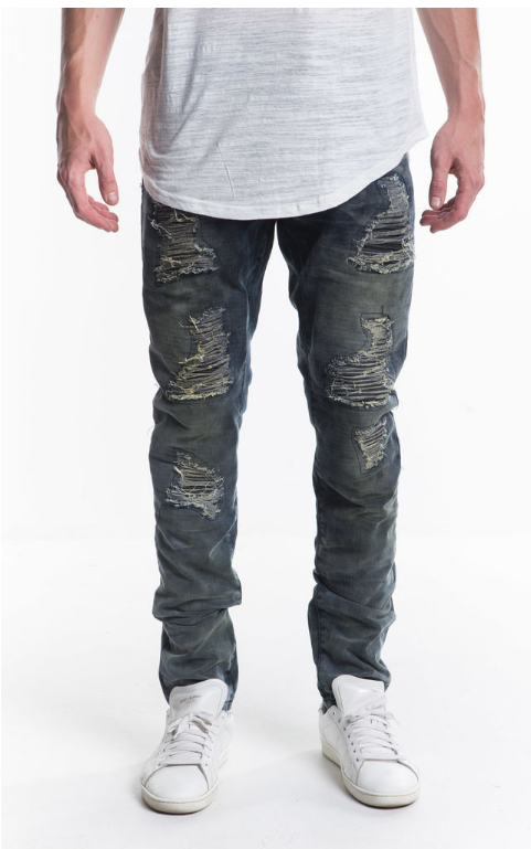 Eldorado Ripped Denim (EMBH1509) - cosign1975