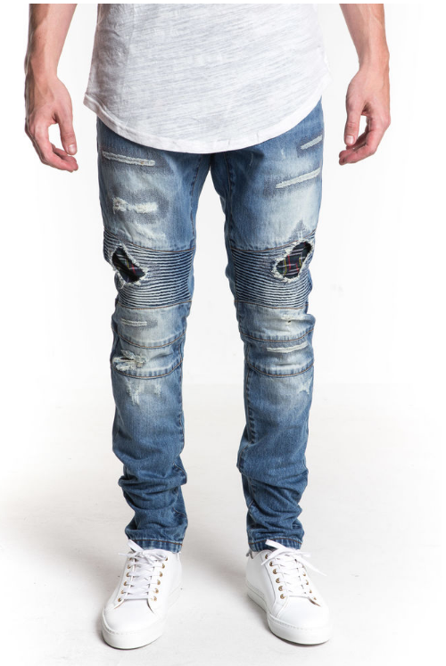 Rambler Biker Denim (EMB15H01) - cosign1975