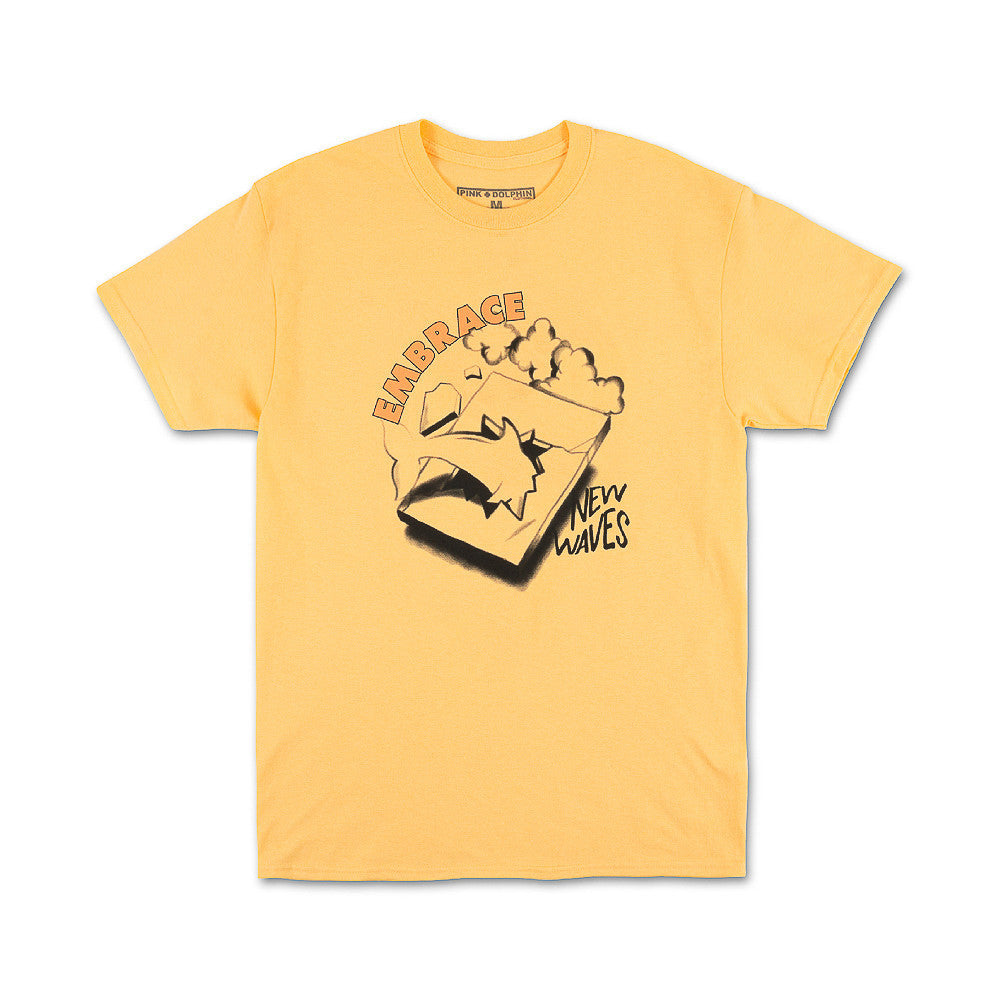 EMBRACE NEW WAVES TEE YELLOW PS21711EWLO - cosign1975