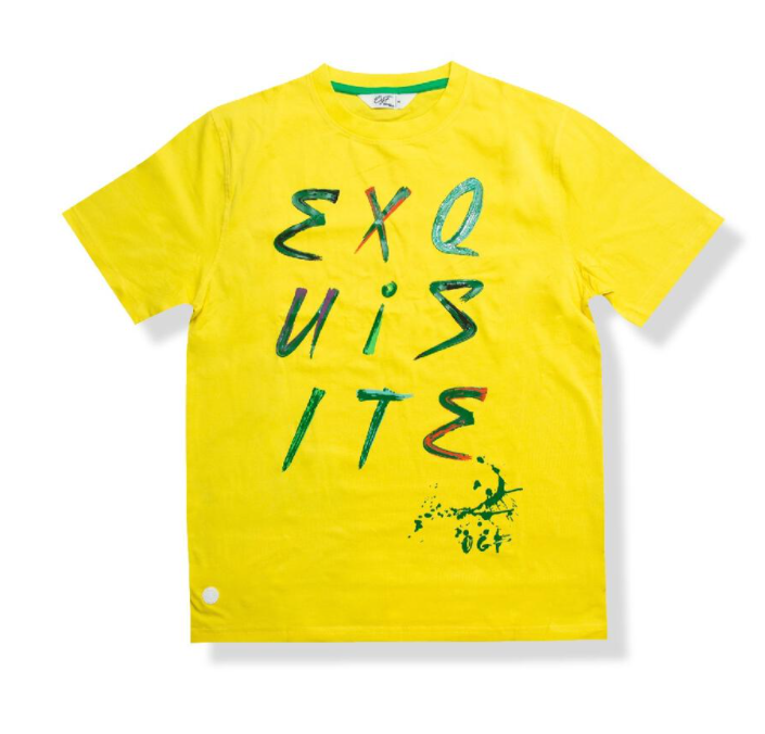 "ORIGINAL FABLES - ""EXQUISITE"" TEE (T242) - YELLOW"