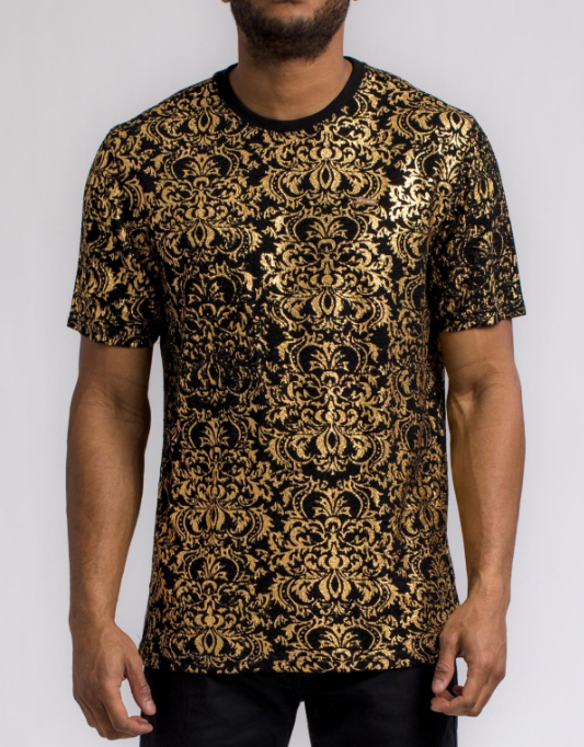 HUDSON - Gold Leaf T-Shirt (H1052091) - cosign1975