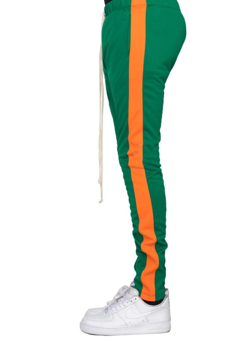 EPTM - TRACK PANTS (EP8569) - GREEN/ORANGE