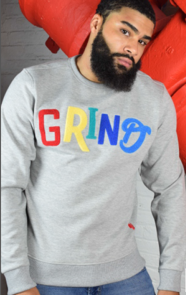 RED TAG BRAND - GRIND CREW SWEATSHIRT HSF1125 - GREY - cosign1975