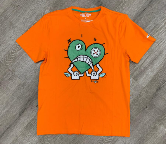"BKYS - 'HOLDUP"" TEE (T215) - BURNT ORANGE"