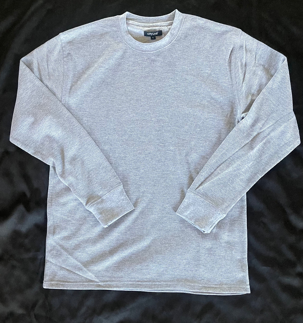 CITY LAB - CLASSIC Thermal Shirt - GREY - NOT IN PACKAGING