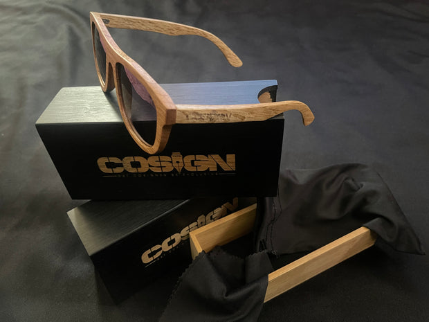 COSIGN1975/GCBE - WOODEN FRAMES - BROWN