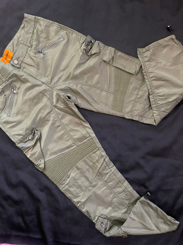 GODSPEED - METAL GEAR CARGO PANTS - OLIVE GREEN