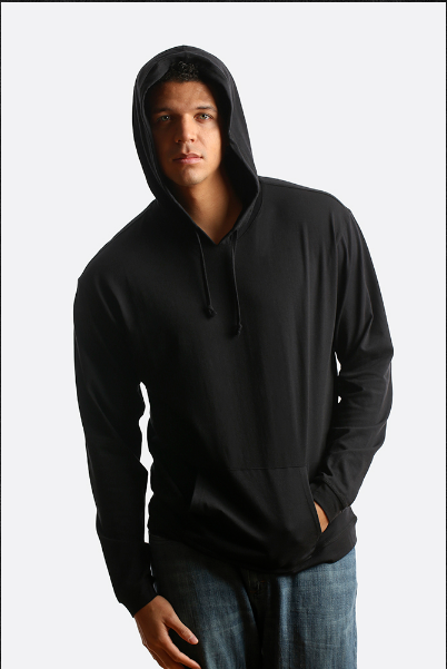 City Lab - JERSEY Hoodie - Black - cosign1975