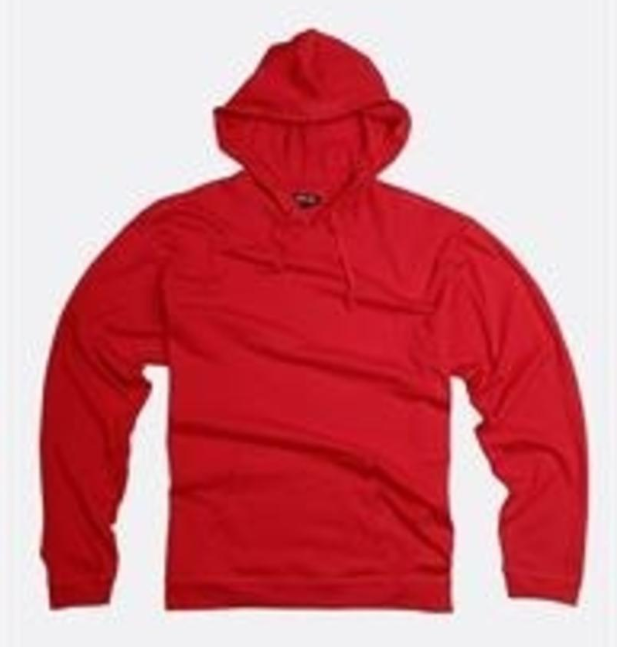 City Lab - JERSEY Hoodie (JH014) - Red - cosign1975