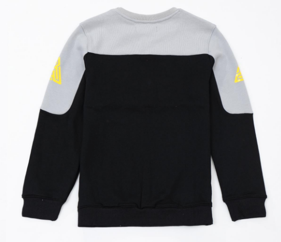 Kids Pyramid Jersey Crewneck Grey (YKO810019) - cosign1975