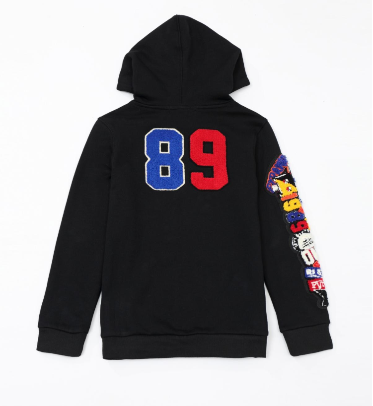 KIDS College Mash PullOver Hoodie (YKO810012) - cosign1975