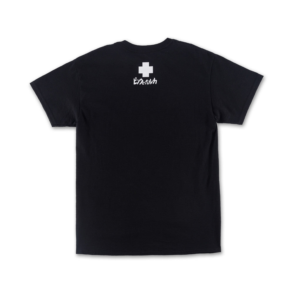 LIGHTHOUSE  PORTRAIT TEE BLACK - cosign1975