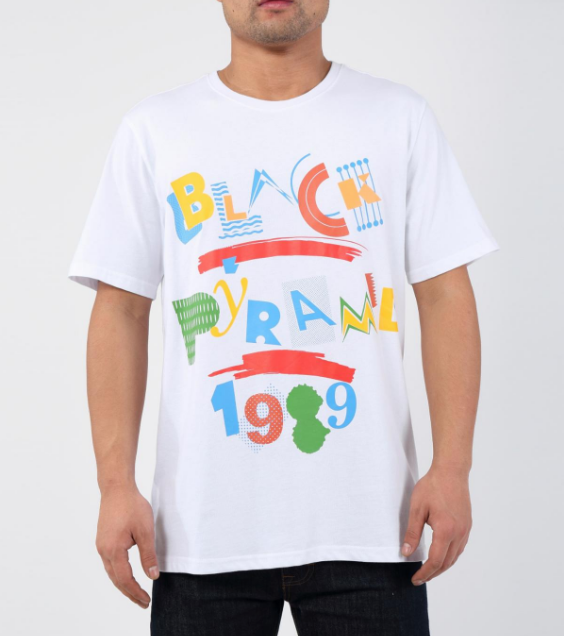 Black Pyramid Living Tee (Y1161957) - White - cosign1975