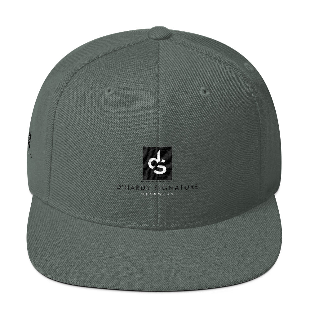 DHARDY Signature Snapbacks Wool Blend Snapback - cosign1975