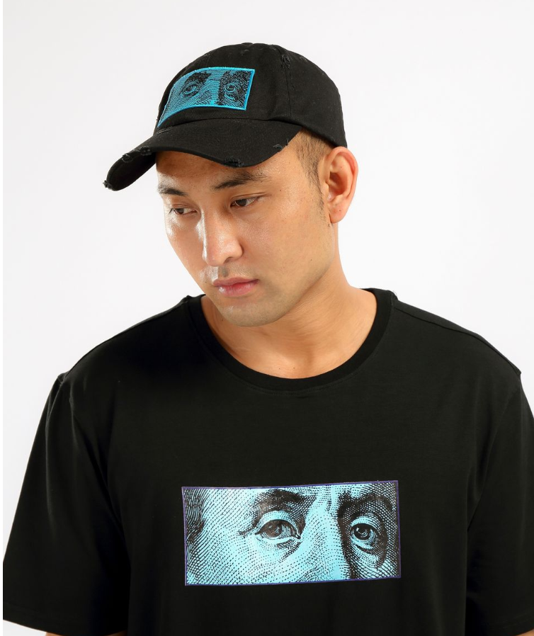 Hudson - Blue Face Shirt & Hat (H1052803KIT) - Black - cosign1975