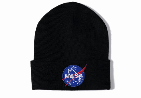 NASA Meatball Logo Beanie (H7052408) - cosign1975