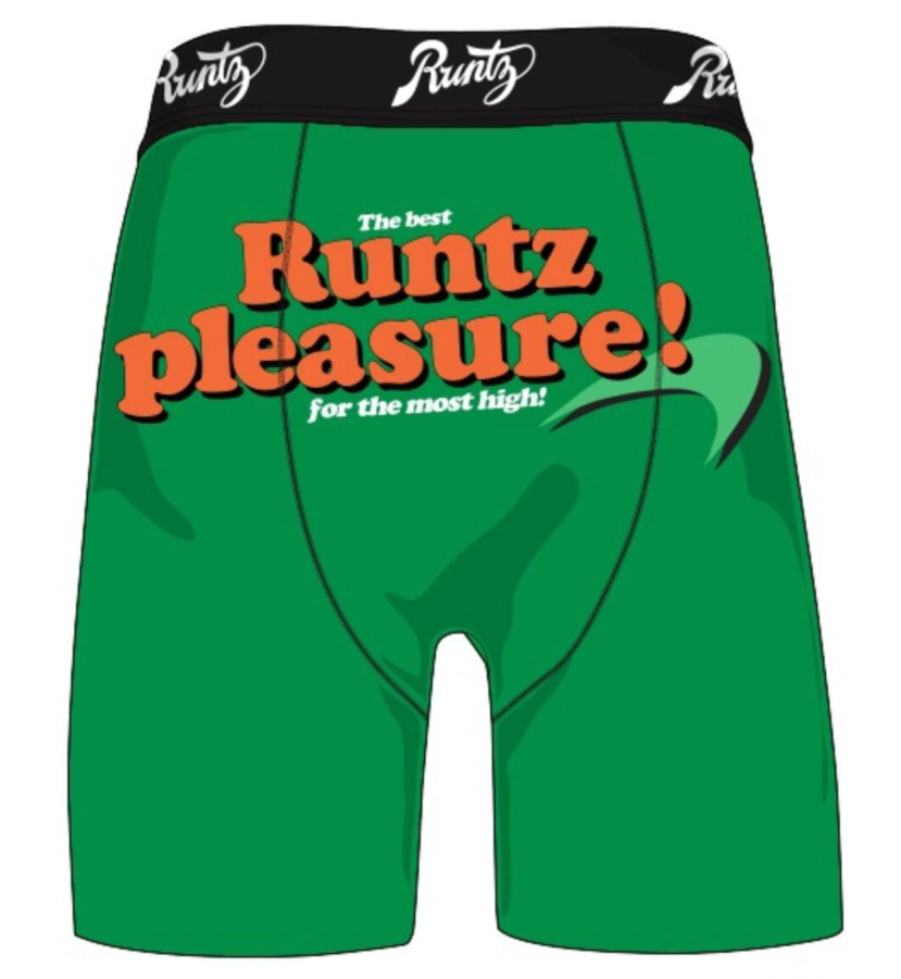 RUNTZ - RUNTZ PLEASURE UNDERWEAR (80056-GRN)