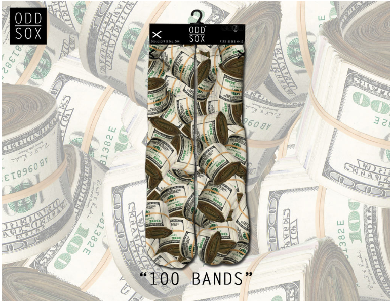 Odd Sox - 100 Bands (OSHOL15BAND) - cosign1975