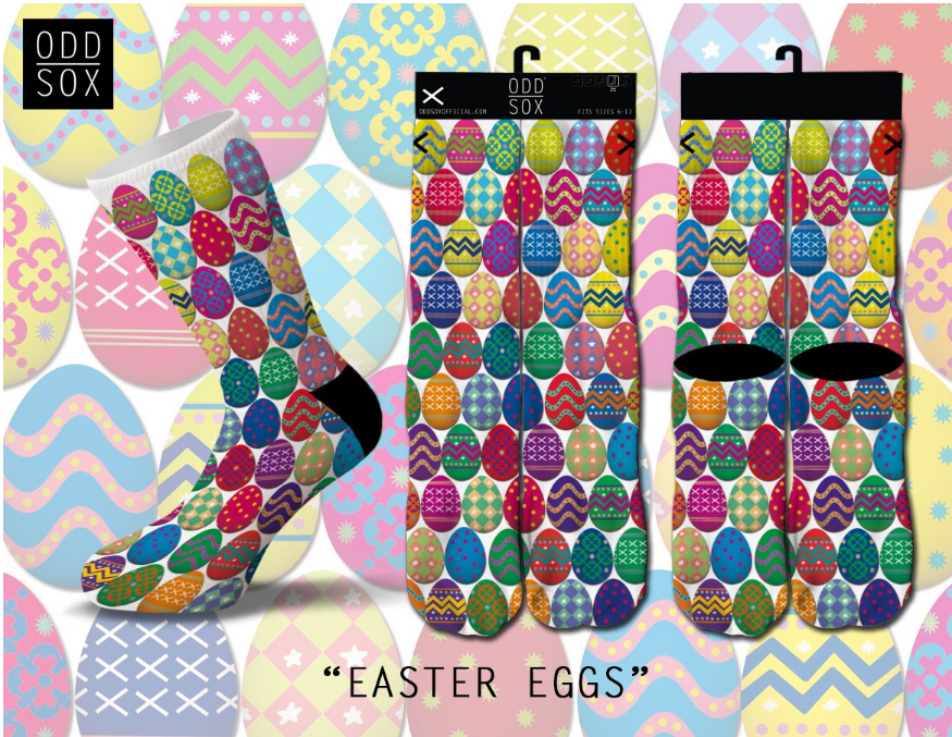 Odd Sox - Easter Eggs (OSSPR1EGGS) - cosign1975
