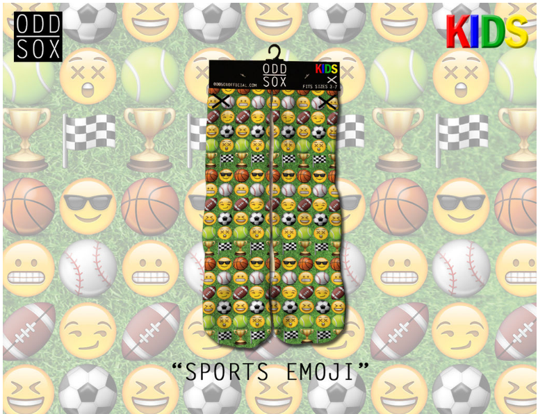 Sports Emoji (Kids) (OSKIDSSPRT) - cosign1975