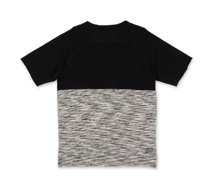 MARBLE WEAVE CREWNECK GREY PS21704MWCGR - cosign1975