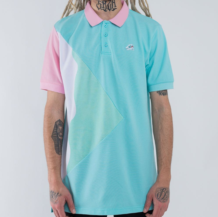 TSUNAMI WAVES POLO (AF11704TWPLB) - cosign1975