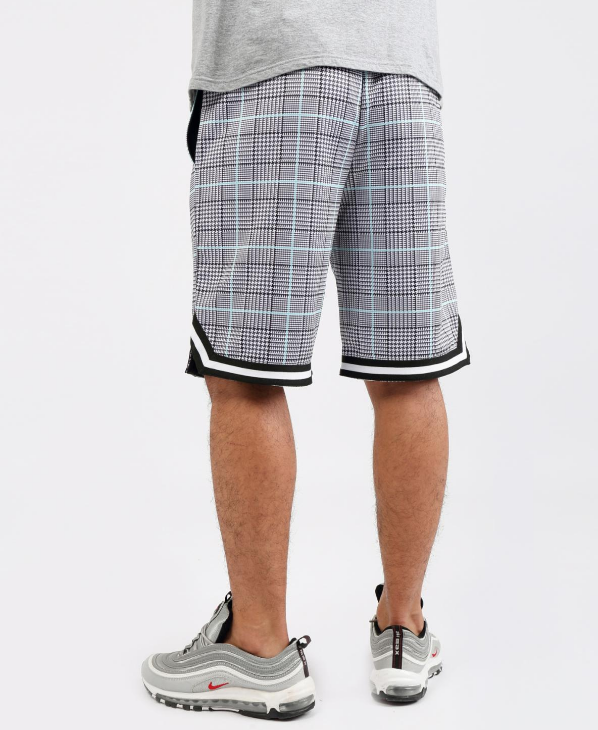 HUDSON - 2 Flavors B-Ball Shorts (H3052669) LIGHT PLAID - cosign1975