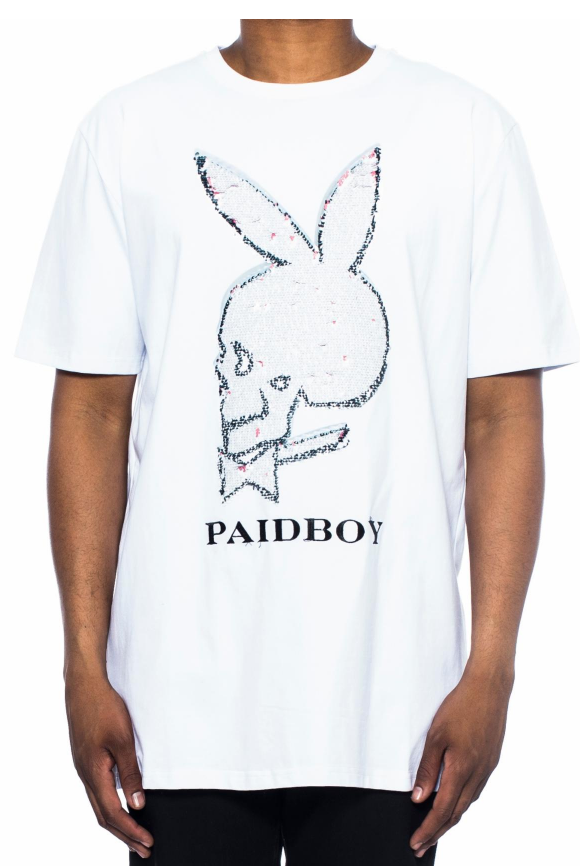 Paidboy Sequin T-Shirt (H1051574) - cosign1975