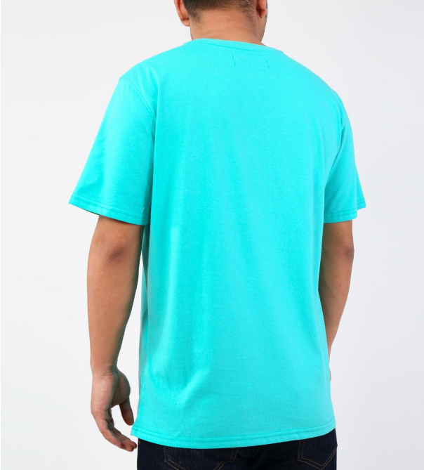 Black Pyramid - Layback Cyborg Tee (Y1161961) Teal - cosign1975
