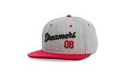 STREET DREAMS  - Closer Snapback (CR0465GRY) - GREY/RED