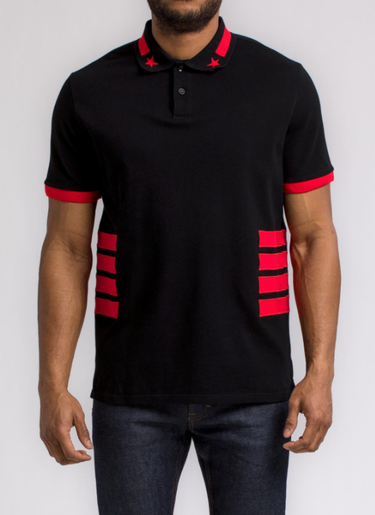 Side Stripe Polo Shirt (H1052010) - cosign1975