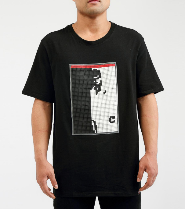 HUDSON - Digital Split Face Shirt (H1052626) Black - cosign1975