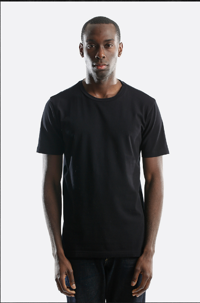 City Lab - STRETCH Slim Fit T-shirt, Crew - black - cosign1975