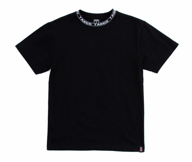 JACQUARDED COLLAR T-SHIRT (THB1080KT) - cosign1975