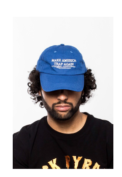 Hudson - Trap Again Dad Hat (H7051510) Blue - cosign1975