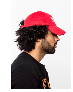Hudson - Trap Again Dad Hat (H7051510) Red - cosign1975