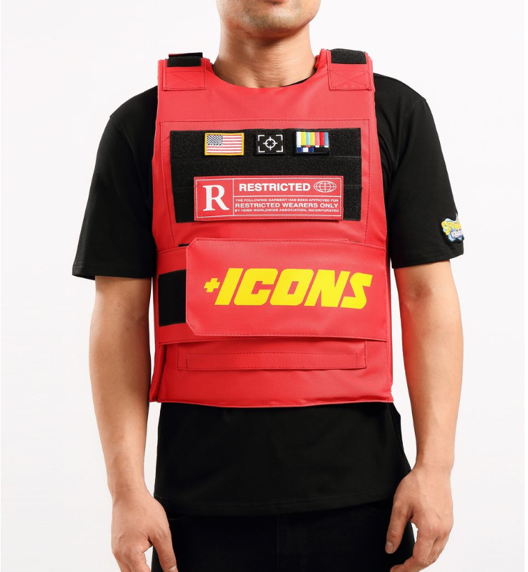Hudson - Icons Vest (H6052768) - Red - cosign1975